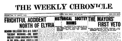 Elyria Weekly Chronicle newspaper archives
