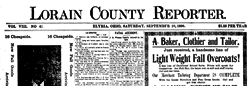 Lorain County Reporter newspaper archives