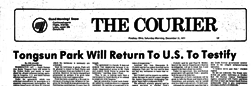 Findlay Courier newspaper archives