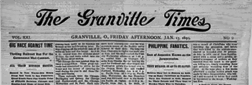 Granville Times And Denisonian newspaper archives