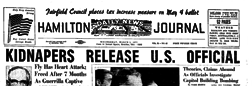 Hamilton Daily News Journal newspaper archives