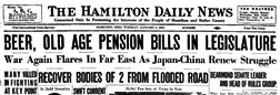 Hamilton Daily News newspaper archives