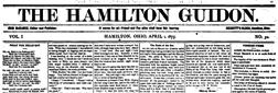 Hamilton Guidon newspaper archives
