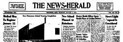 Hillsboro News Herald newspaper archives