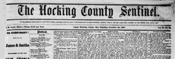 Logan Hocking County Sentinel newspaper archives
