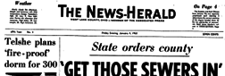 Mansfield News Herald newspaper archives