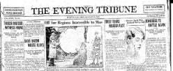 Marysville Tribune newspaper archives