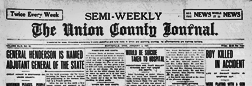 Marysville Union County Journal newspaper archives