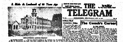 Mechanicsburg Telegram newspaper archives