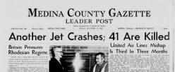 Medina County Gazette newspaper archives