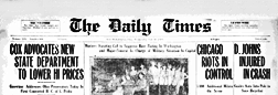 New Philadelphia Daily Times newspaper archives