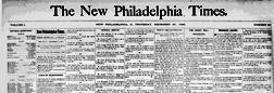 New Philadelphia Times newspaper archives