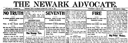 Newark Daily Advocate newspaper archives