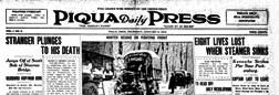 Piqua Daily Press newspaper archives