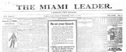 Piqua Democrat newspaper archives