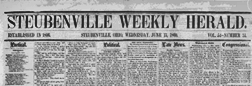 Steubenville Weekly Herald newspaper archives