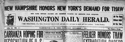 Washington C H Daily Herald newspaper archives