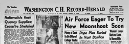 Washington Court House Record Herald newspaper archives