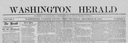Washington Herald Washington Ohio newspaper archives