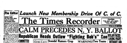 Zanesville Times Recorder newspaper archives