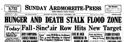 Ardmore Sunday Daily Ardmoreite newspaper archives