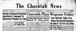 Checotah News newspaper archives
