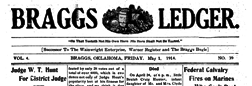 Braggs Ledger newspaper archives
