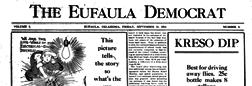 Eufaula Democrat newspaper archives