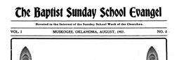 Fort Gibson Baptist Evangel newspaper archives