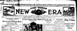 Fort Gibson New Era newspaper archives