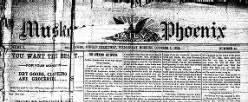 Muskogee Daily Phoenix newspaper archives
