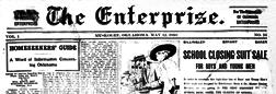 Muskogee Enterprise newspaper archives