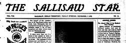 Sallisaw Star newspaper archives