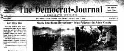 Democrat Journal newspaper archives