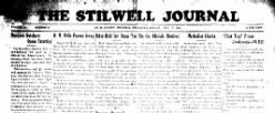 Stilwell Democrat Journal newspaper archives