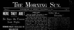 Morning Sun newspaper archives