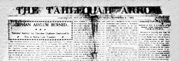 Tahlequah Arrow newspaper archives