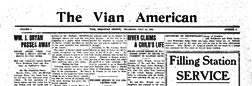 Vian American newspaper archives