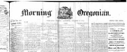 Daily Oregonian newspaper archives
