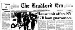 Bradford Era newspaper archives