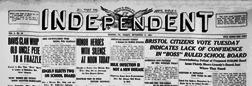 Bristol Bucks County Independent newspaper archives