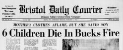 Bristol Daily Courier newspaper archives