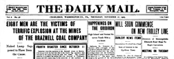 Charleroi Daily Mail newspaper archives