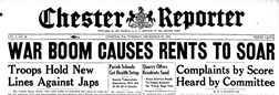 Chester Reporter newspaper archives