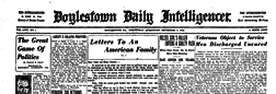 Doylestown Intelligencer newspaper archives