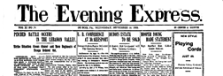 Dubois Evening Express newspaper archives