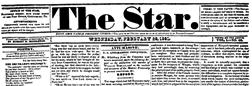 Gettysburg Star newspaper archives