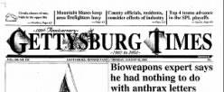Gettysburg Times newspaper archives