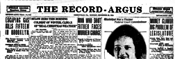 Greenville Record Argus newspaper archives