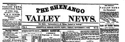 Greenville Shenango Valley News newspaper archives